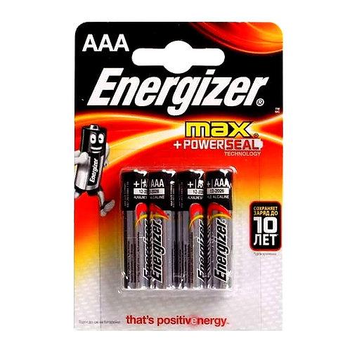 Алкалиновые батарейки Energizer MAX AAA