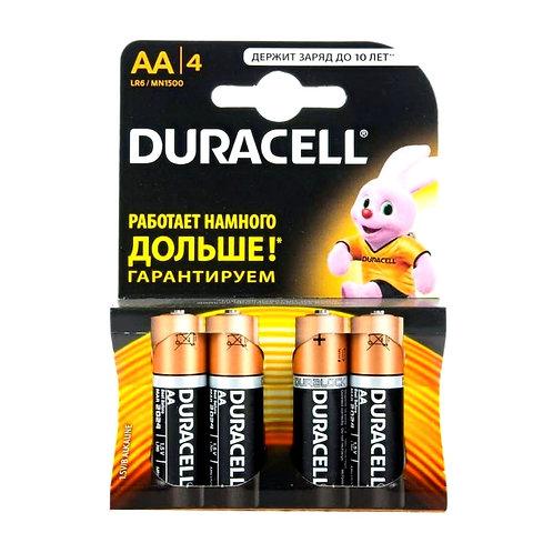 Алкалиновые батарейки Duracell AA