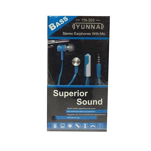 Наушники вакуумные YUNNA YN - 300
