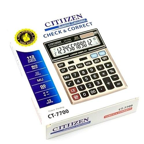 Большой калькулятор CJTJJZEN CT – 7700