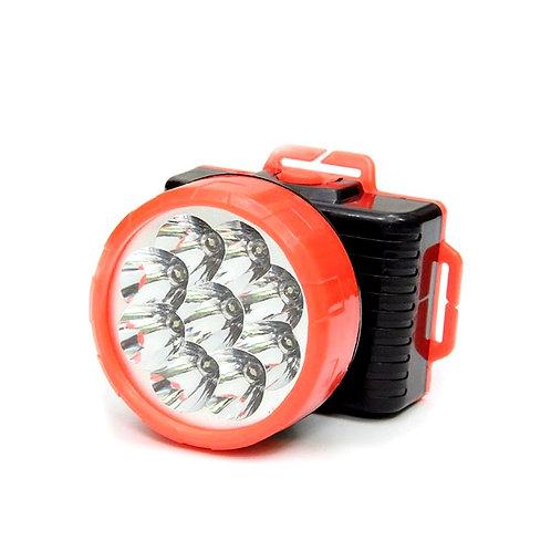Налобный фонарь на 9 ламп HQ - 809
