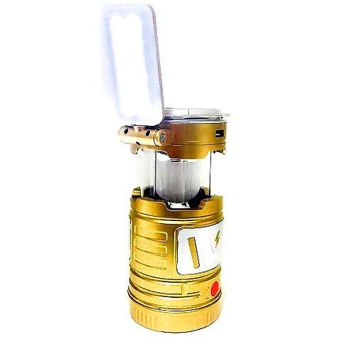 Кемпинговый фонарь с дополнительной складной лампой TJ - 288
