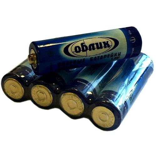 Солевые батарейки Облик AA