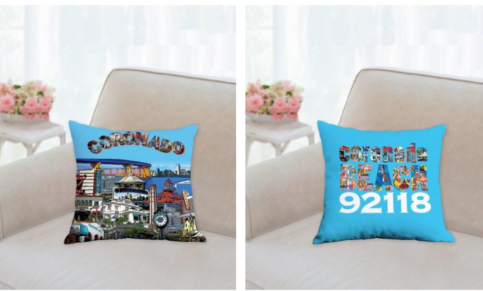 Coronado 92118 pillow