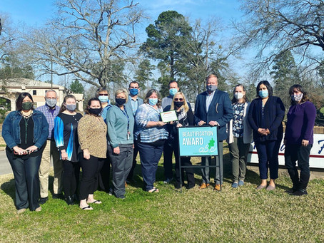Pregnancy Help Center of Lufkin Wins Feb 2021 Beautification Award