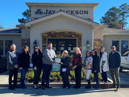 Jay Jackson State Farm Wins December Beautification Award