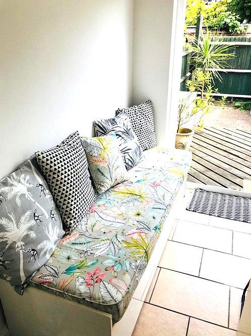 Bespoke bench cushions