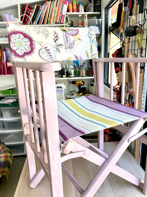Chairs upcycled