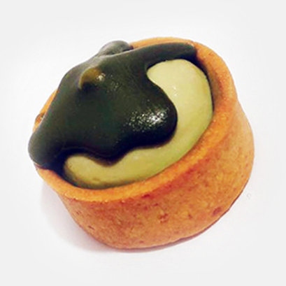 Mini Tart Green Tea Cheese MT25