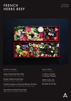 De Luxe Bento Catalogue