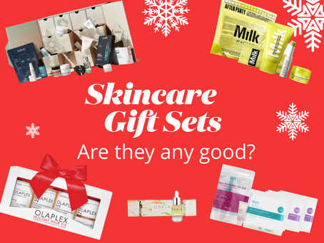 Gift Guide (US/UK): Skincare gift sets - are they any good? (yes!!)