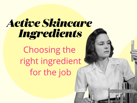 Active skincare ingredients
