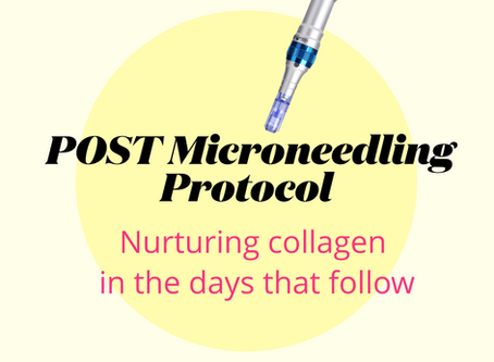 Post microneedling - when to add serums, devices and other skincare back into your routine