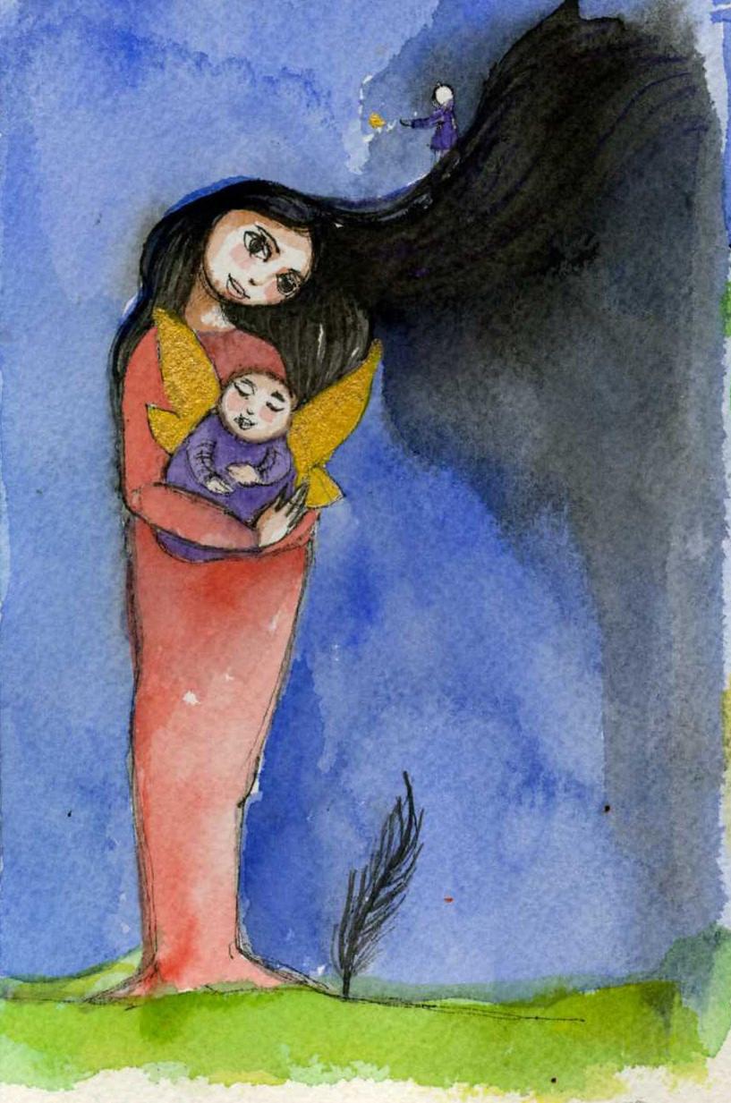 Visitation artwork by Claudia Olivos