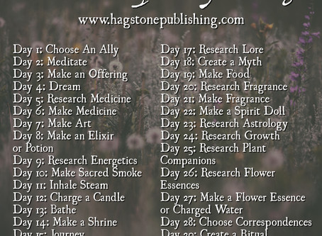 Your Guide to the 30 Day Plant Spirit Ally Challenge