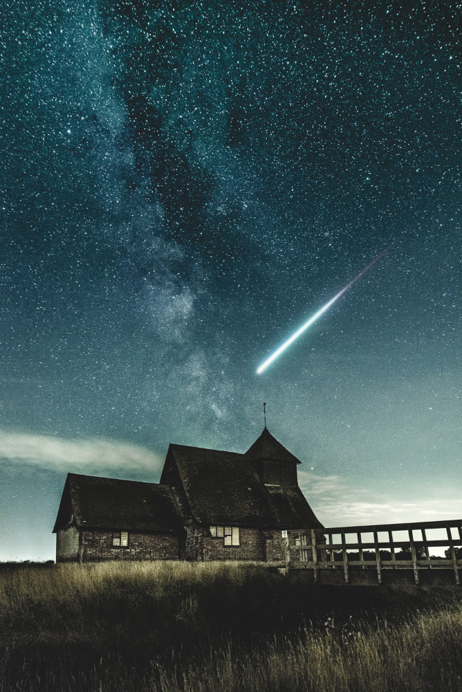 House and Shooting Star