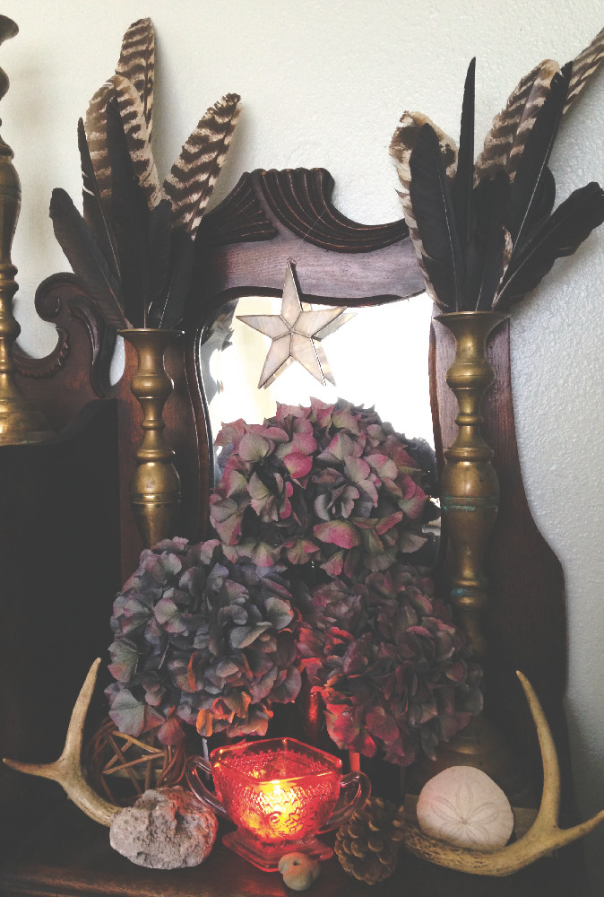 The Sustainable Altar at michelle-simkins.com
