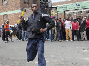 Violence against foreigners in South Africa