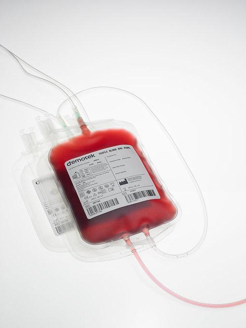 Pochette de sang Triple (inferieure & superieure)