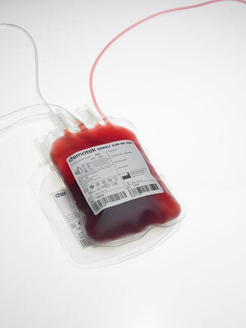 Pochette de sang pédiatrique