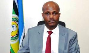 Le secrétaire général de la Communauté de l'Afrique de l'Est, l'EAC, Libérat Mfumukeko (burundais)