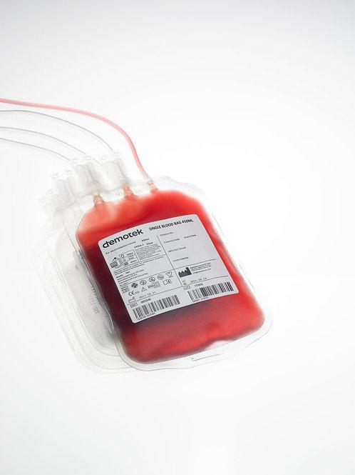 Pochette de sang Simple