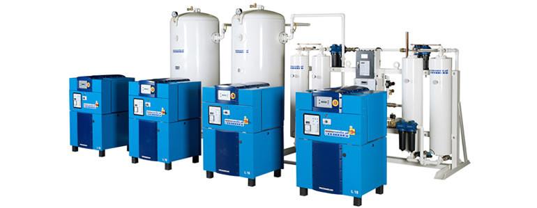 Medical gas production units