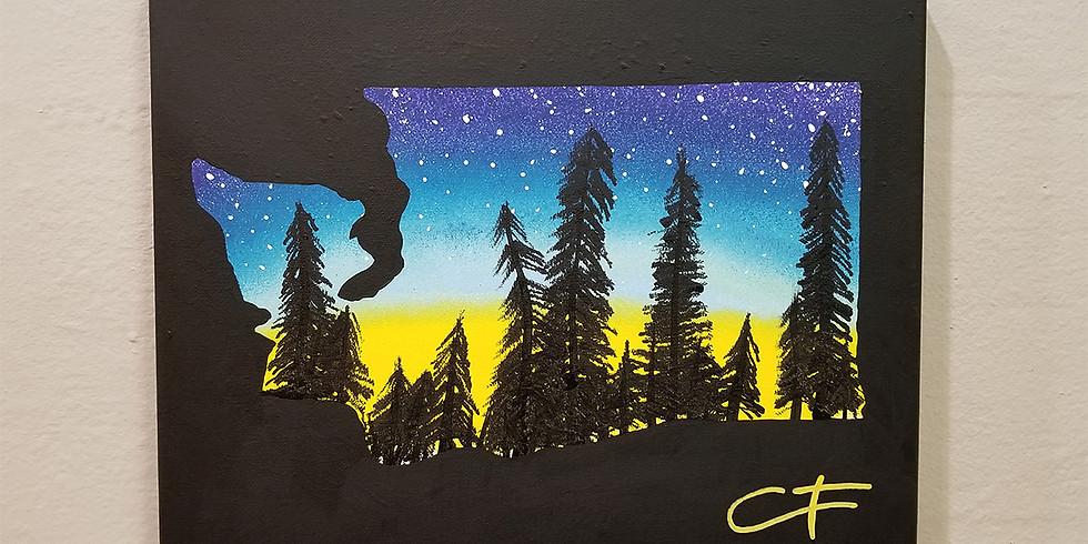 Washington Forest Canvas Workshop