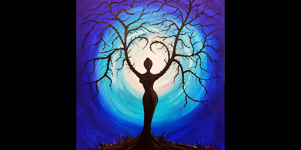 Tree Goddess LIVE ONLINE Community Interactive Workshop