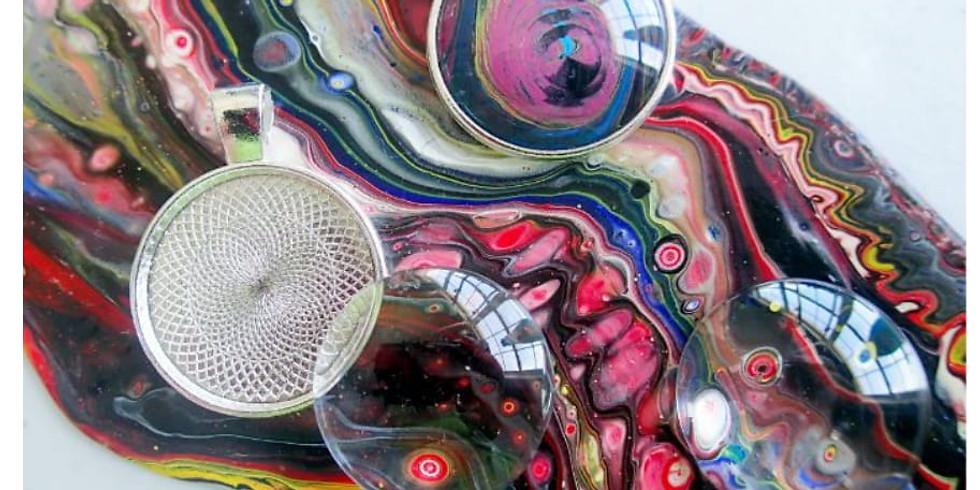 DIY Fluid Art - Pendants & Pours Workshop