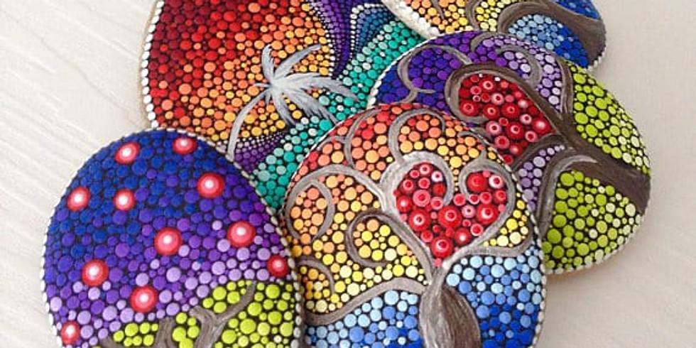Tree Of Life Stone Dot Art Workshop