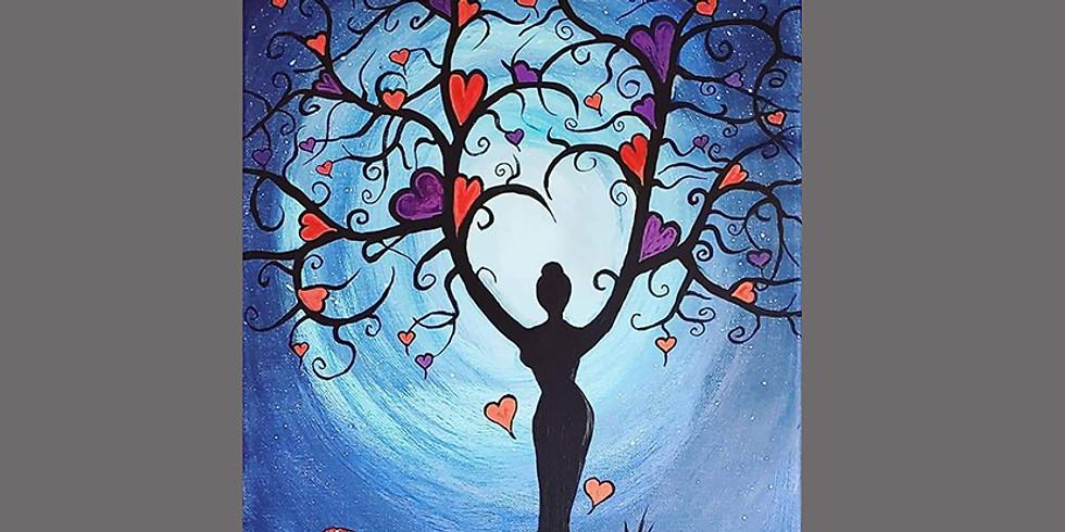 Love Tree Goddess LIVE ONLINE Interactive Workshop