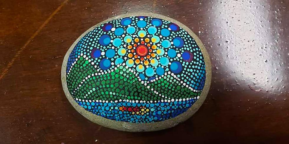 Mandala Mountain Stones LIVE ONLINE Workshop
