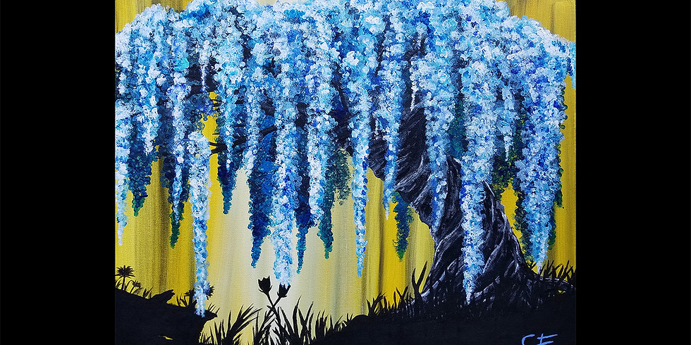 Weeping Blossom Tree Canvas Workshop