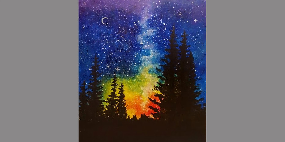 Starry Night Canvas Painting & Coffee Social