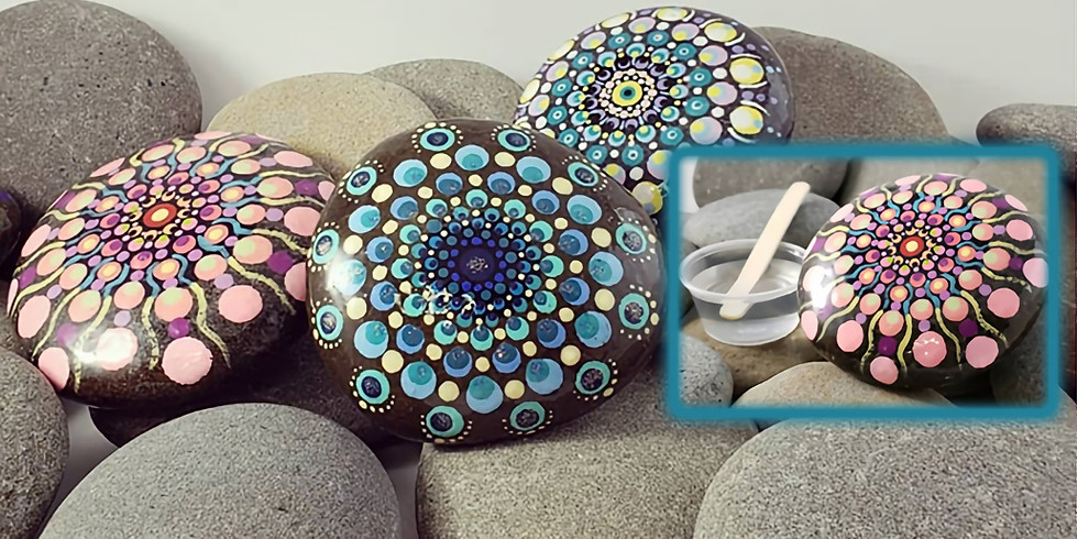 How to Resin Rocks IN-STUDIO Workshop