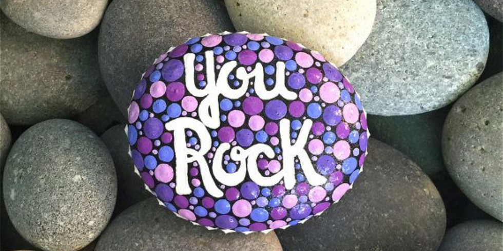 $5 Rock Painting Day in the Art Cafe!