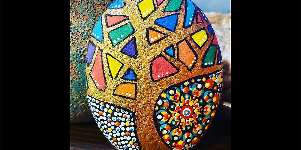 Kaleidoscope Tree Dot Art Workshop