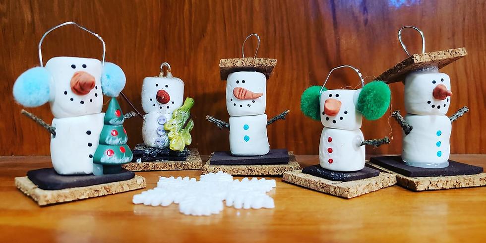 Smore Snowmen IN-STUDIO Workshop