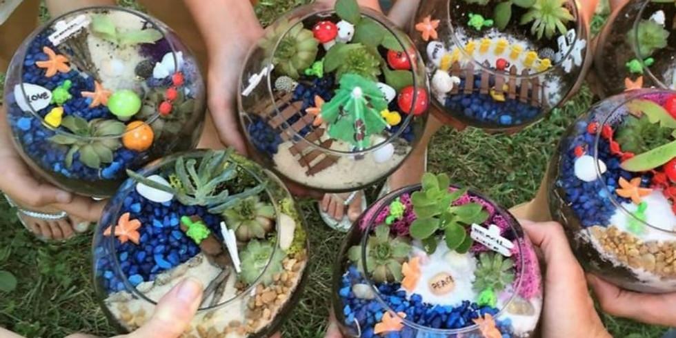 DIY Airplant Garden Terrarium Workshop