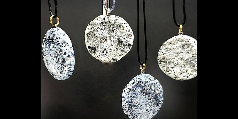Swarovski Crystal Moon Pendant IN-STUDIO Workshop