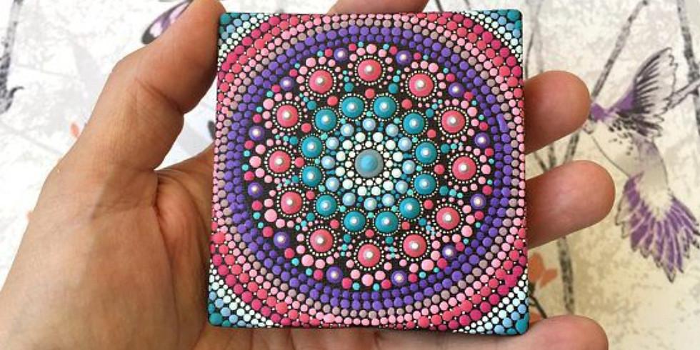 Mystical Mandala Mini Canvas Workshop