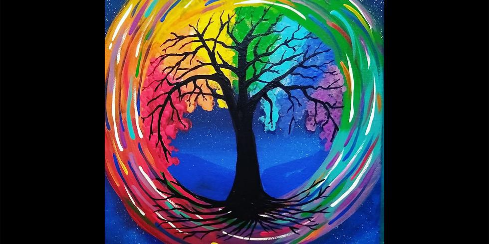 Chakra Tree Canvas Workshop