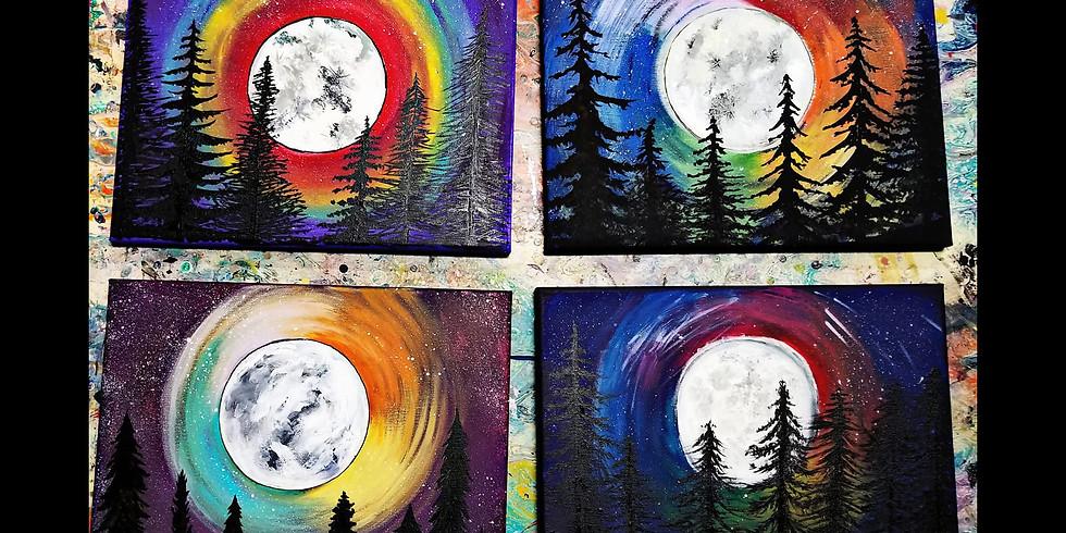 Chakra Moon Canvas Workshop