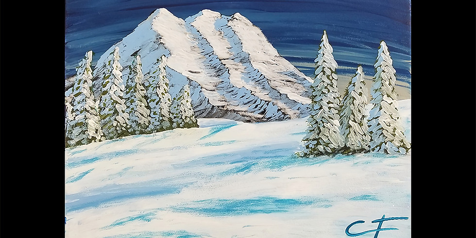 Mt Rainier Canvas LIVE ONLINE Workshop
