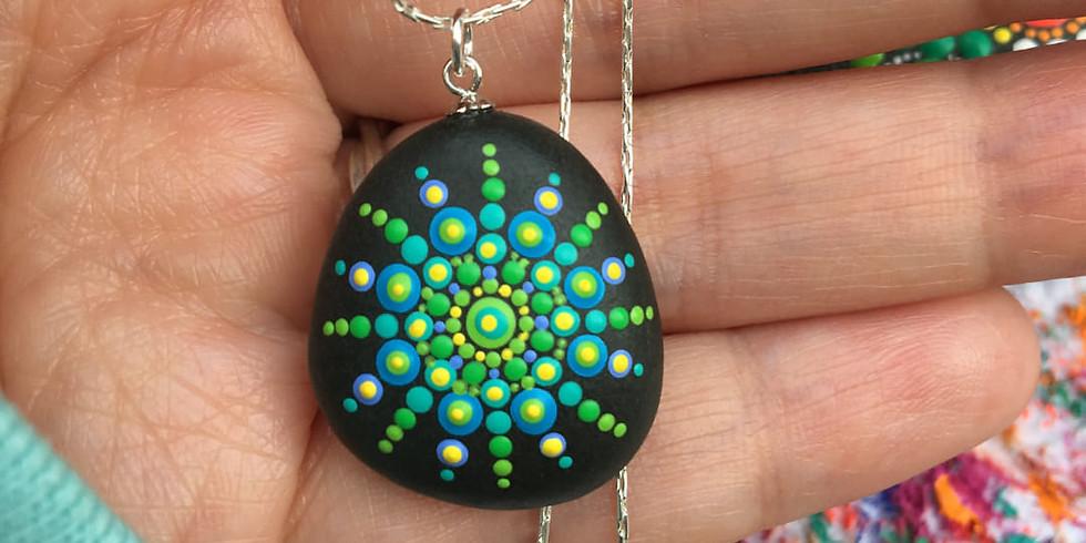 Mystical Mandala Stone Pendants Workshop