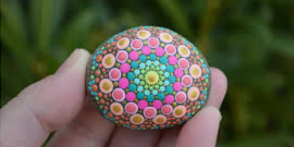 Coffee & Crafts - Mini Mandala Stones Drop In