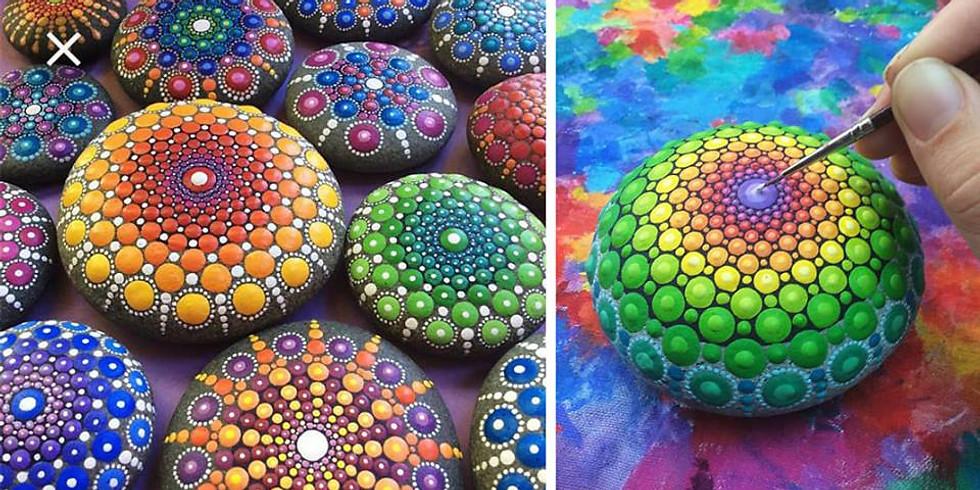 Mystical Mandala Stones Workshop