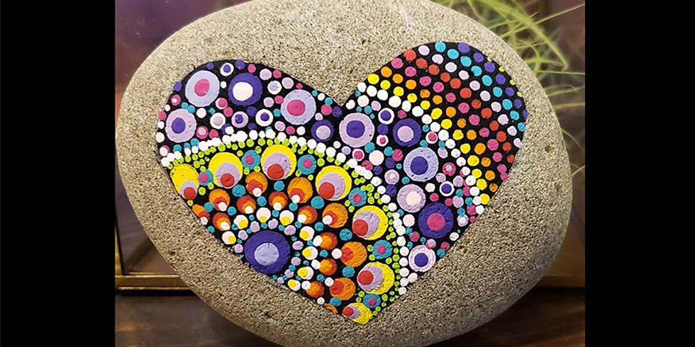 Heart Mandala Stones LIVE ONLINE Workshop