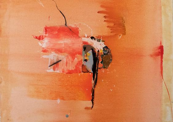 Trash Orange 60x60cm (sold)